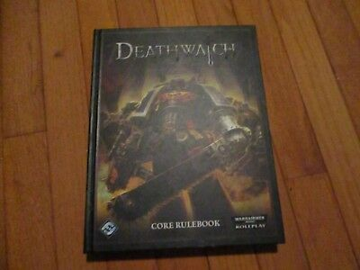 WARHAMMER 40K DARK Heresy Core Hc Rulebook Black Industries 2008