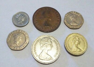 Lot Of Coins From Great Britain 1967-1991