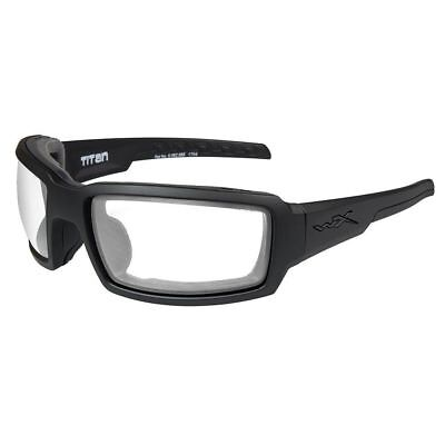 2acd43151b6 NEW WILEY X Sabre Advanced Clear Lens Matte Black Frame 303 Shooting ...