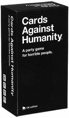 Cards Against Humanity UK 2.0  Board Playing Family Birthday Party Card Game New