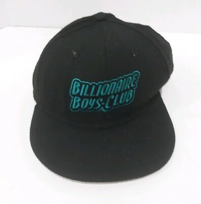 db234eb627454 Billionaire Boys Club BBC New Era Black bape Fitted Hat Size 7 1 2 PHARRELL