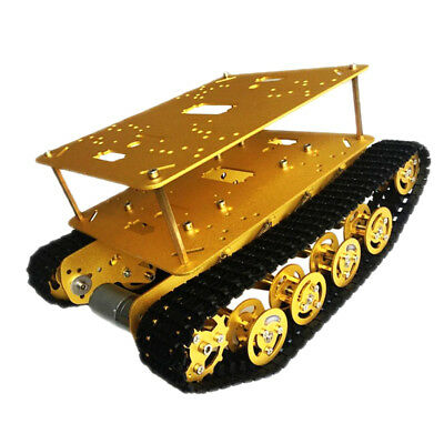 Obstacle Avoidance Double Shock Absorption 12 V Motor Robot tank Chassis Car