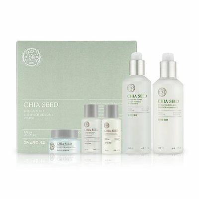 The Face Shop Chia Seed Watery SET (Chia Seed Water 100 Toner + Lotion)