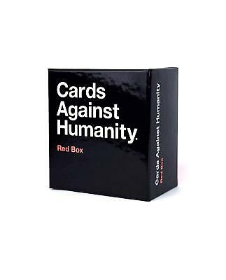 Cards Against Humanity UK Expansion Red Box First Second Third Brand New Sealed