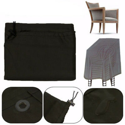 Large Waterproof Outdoor Stacking Chair Cover Garden Parkland Patio Chairs Cover