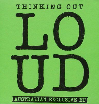 New: ED SHEERAN - Thinking Out Loud [Australian Exclusive EP]