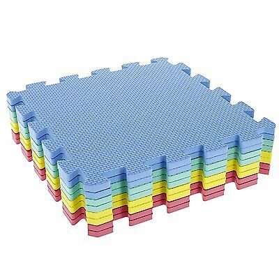 Baby Play Mat Foam Floor Puzzle 8 Tiles Toddler Activity Gym Kids Safety Playmat