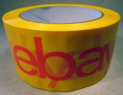 Packaging Tape Best Deal Official eBay Yellow with Red Shipping Supplies Boxes