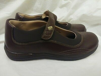 cc7a86f71e0a DREW Rose Women s Mary Jane Diabetic Work Shoes Brown Leather Size 8 1 2N  NWOB