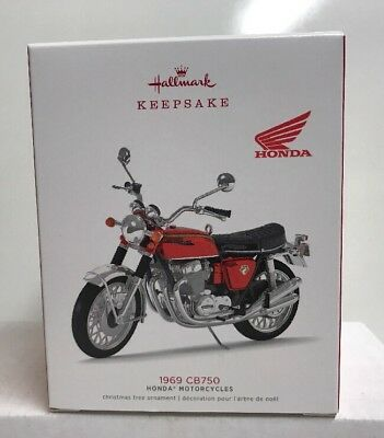 2018 Hallmark Keepsake Honda 1969 CB750 Motocycle Ornament