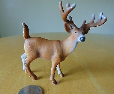 SCHLEICH White Tail BUCK Deer Made in 2002