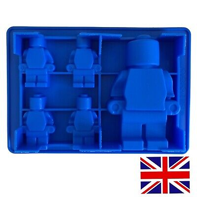 Lego Silicone Mould Fondant Mold Chocolate Cake Decorating  Lego Bricks UK Stock