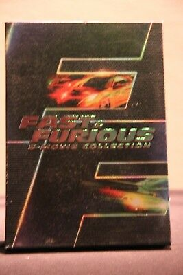 Fast  Furious: 6 Movie Collection (DVD, 2014, 6-Disc Set) - Used