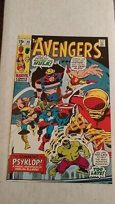 Avengers #88 JCPenney Sears Stridex Reprint NM Hard to Find!