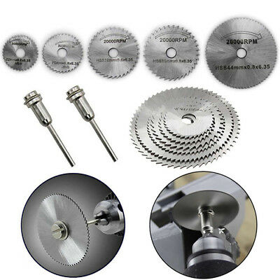 7pcs/set HSS Circular Saw Blade Wood Metal Plastic Cutting Disc for Rotary Tool