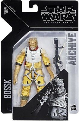Star Wars Black Series 6 Inch Wave 1 Archive Collection Bossk In Stock!