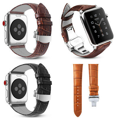Genuine Leather Band Strap for Apple Watch iWatch Series 4 3 2 1 38/42/40/44 MM