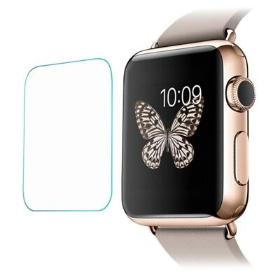 2pcs Smart Watch HD Screen Protector Tempered Glass 9H Hardness for Apple Watch
