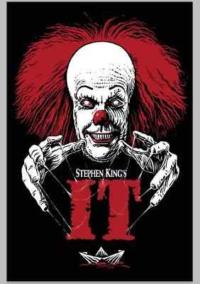 Art Poster New Stephen King's IT Pennywise Horror Movie -20x30 24x36In N1171