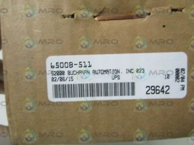 Mac Pneumatic Valve 6500B-511 *new In Box*