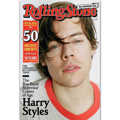 Art Poster Harry Styles Rolling Stone Rock Music Singer Star 14x21 24x36 Y2257