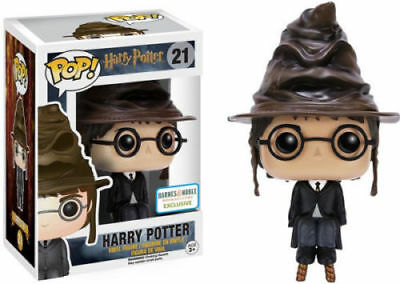 Funko POP Harry Potter w/ Sorting Hat Barns and Noble Exclusive
