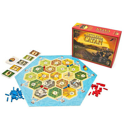 The Settlers Of Catan-5-6 Player Board Game Mayfair Games 5th Edition Sealed New