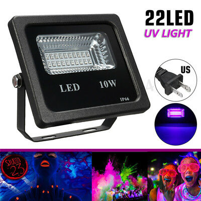 10W UV 22LED Floodlight Projecteur Spot Lampe DJ Disco Scène Jardin Party Décor