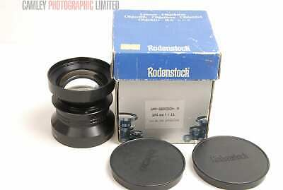 Rodenstock Apo-Geragon f11 270mm Lens. Boxed. Graded: LN- [#8079]