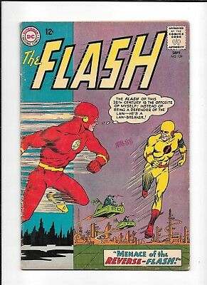 The Flash #139 ==> Vg+ 1St Appearance Of Reverse Flash Dc Comics 1963