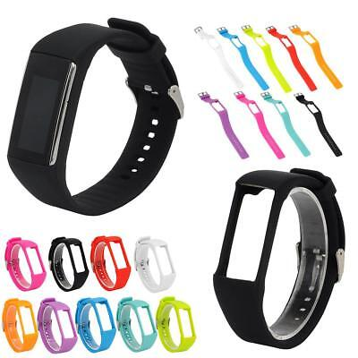 For Polar A360 A730 GPS Wrist Smart Bracelet Silicone Replacement Watch Band