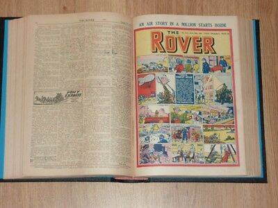 The Rover Comics - 7th Jan to 30th Dec 1950 - Full Year Bound Volume