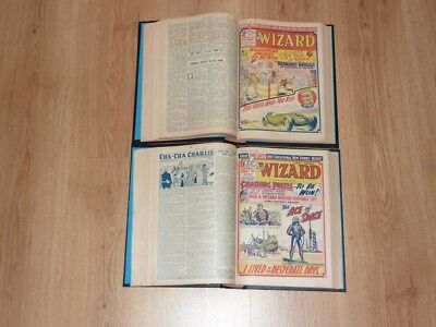 The Wizard Comics - 3rd Jan to 26th Dec 1959 - Full Year 2 Bound Volumes