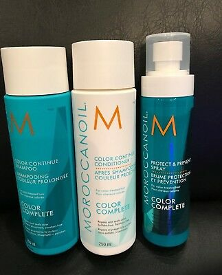 Moroccanoil Colour Complete Your Color Hair Kit Shampoo Conditioner & spray UK