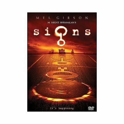 Signs (DVD, 2003), Very Good Condition