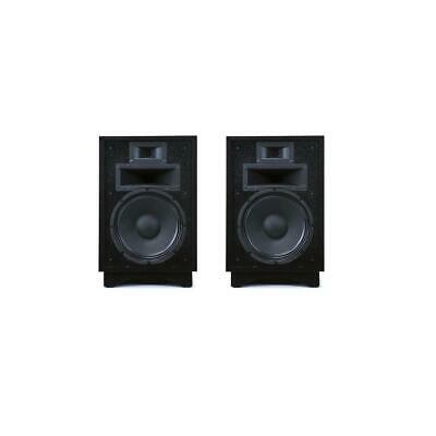 Klipsch 2x Heresy III Three-Way Horn-Loaded Loudspeaker Black #1007424 2