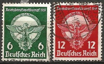 Germany Third Reich 1939 Used - Apprentices' Vocational Contest