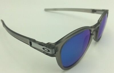 d421b9120f Oakley OO9265-08 LATCH Sunglasses -Matte Grey w Sapphire Iridium Polarized