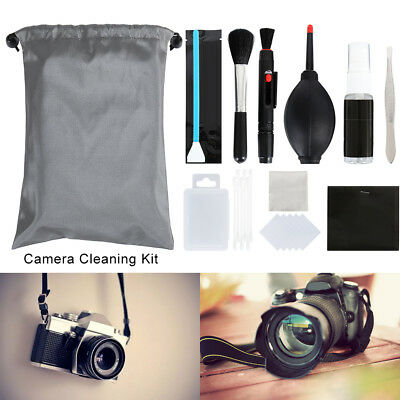 22 in 1 Lens Cleaning Kit Blower Brush Cloth Carry Case Digital Camera Cleaner