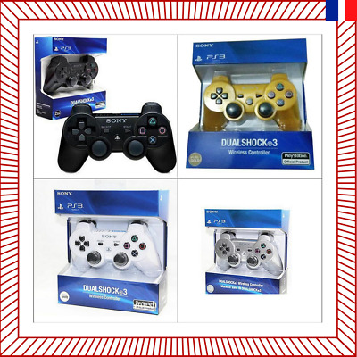 Manette De Jeu PS3 Playstation Sans Fil Bluetooth Vibration Joystick manette PC