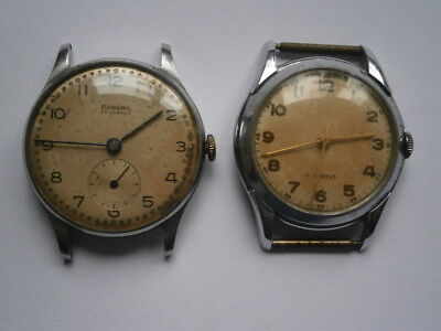 Job lot of vintage gents RODANA watches mechanical watches spares or repair