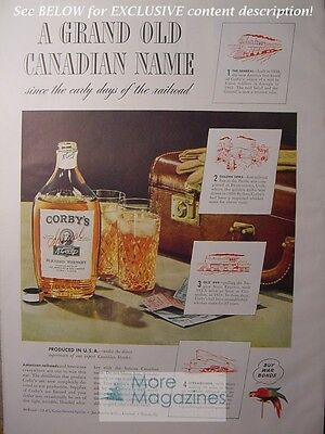 Advertising Collectibles Wwii Era Easy To Use Rare 1943 Esquire Advertisement Ad Schenley Royal Reserve