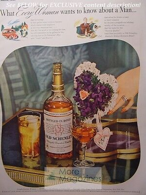 Collectibles 1943 Rare Esquire Advertisement Ad Schenley Royal Reserve Wwii Era