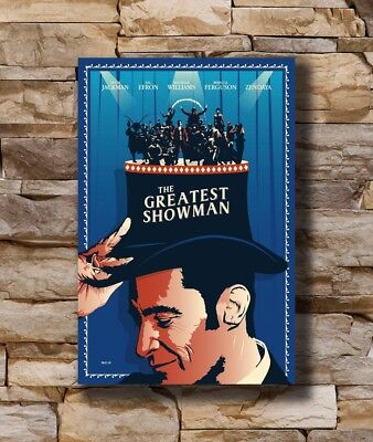 Hot Gift Poster Hugh Jackman The Greatest Showman Movie 40x27 30x20 36x24 F-1808