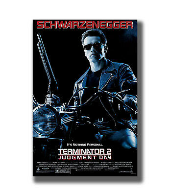 Terminator 2 Judgment Day Classic Hot Movie Series Fabric Poster Art TY721 -36In