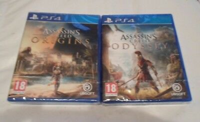 Assassin's Creed Odyssey + Assassin's Creed Origins Ps4