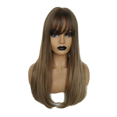 18inch Beautiful & Comfy Synthetic Long Bob Perücke, sehr schnell