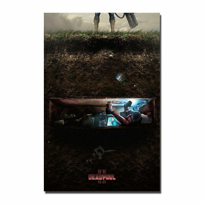 T-73 Art Poster 24x36 27x40 inch 2018 Superhero Deadpool 2 Movie Hot Print