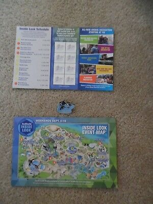 NEW 2018 Sea World Expert Explorer Pin with map