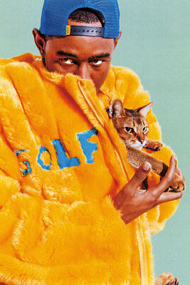 American Odd Future Hip Hop Star Hot Poster 36 27x40IN Y919 Tyler The Creator